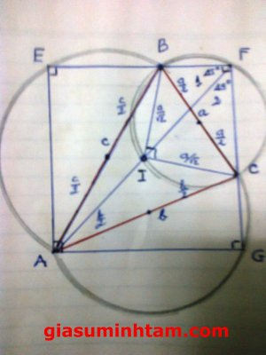 Giải bài toán của bạn Sy Hoang trên Facebook