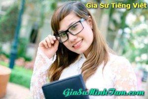 Gia sư tiếng Việt cho học sinh trường quốc tế